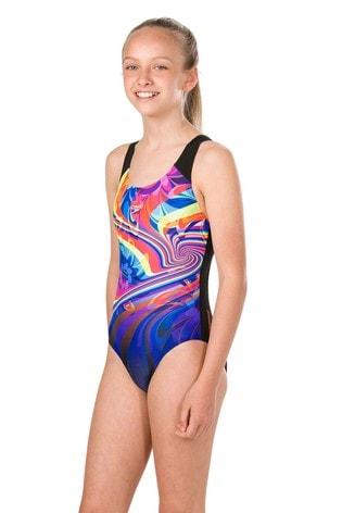 Speedo® Multi Print Splashback Swimsuit