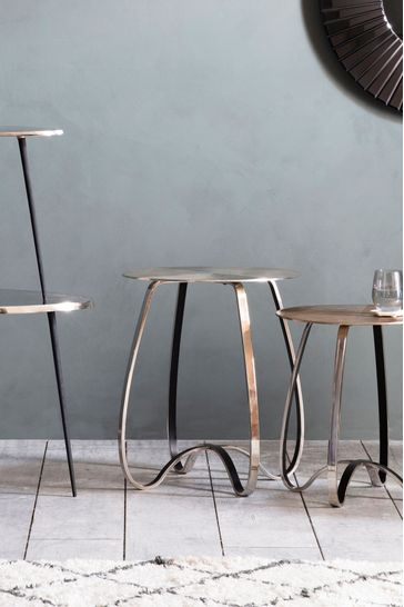 Omar Side Table By Hudson Living