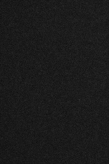 Black Super Skinny Fit Machine Washable Plain Front Trousers