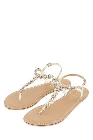 Accessorize Rome Embellished Sandal