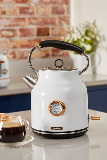Tower White Dome Kettle