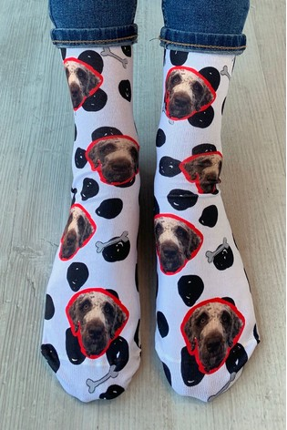 Personalised Photo Upload Pet Socks by Solesmith
