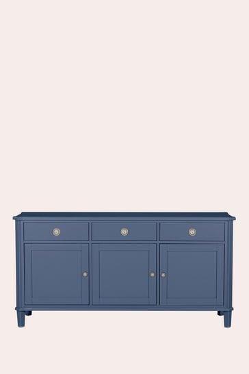 Henshaw Dusky Seaspray 3 Door 3 Drawer Sideboard by Laura Ashley