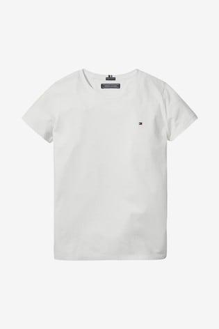 Tommy Hilfiger White Basic T-Shirt