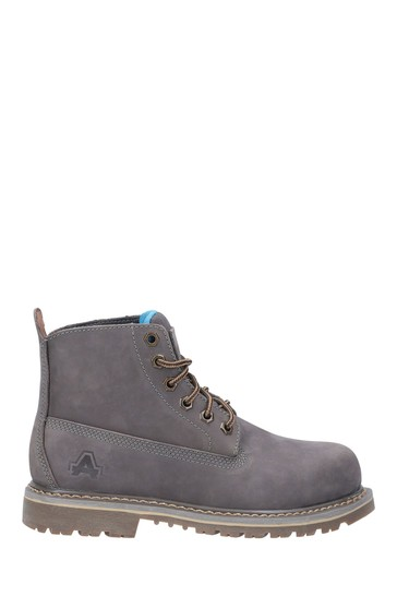Amblers Safety Grey AS105 Mimi Lace-Up Safety Boots
