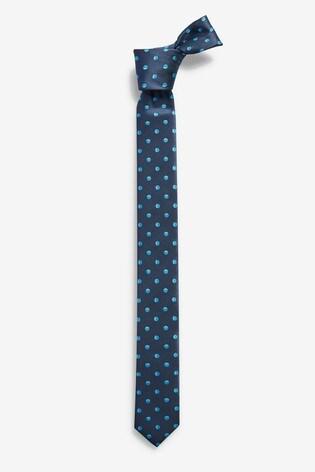 Navy Spot Tie (1-16yrs)