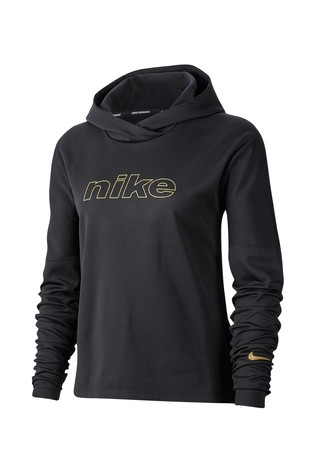 captură clasic oferte grozave Buy Nike Glam Black Running Hoody from Next Slovenia