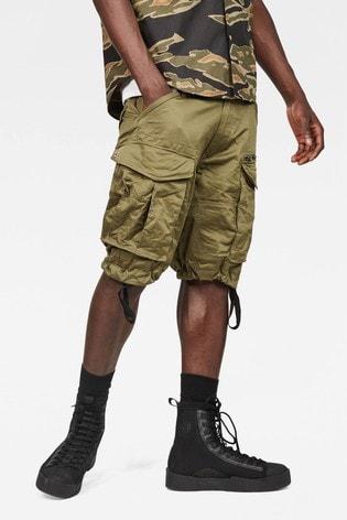 G-Star Beige Rovic Zip Pocket Short