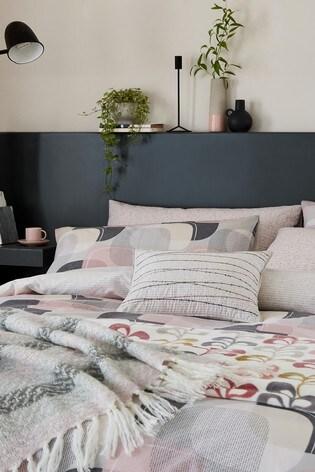 Helena Springfield Arken Geo Duvet Cover and Pillowcase Set