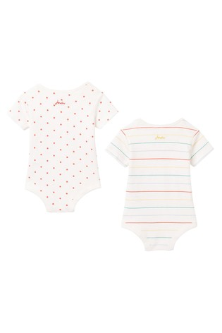 Joules White The Bodysuit 2 Pack