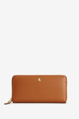 Lauren Ralph Lauren® Leather Zip Continental Purse