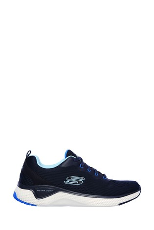 Skechers® Blue Solar Fuse Cosmic View Trainers
