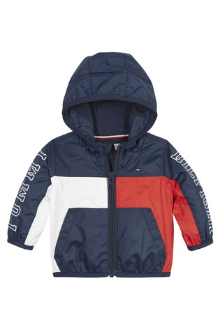 Tommy Hilfiger Blue Baby Tommy Colorblock Jacket