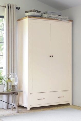 Thornley Painted Double Wardrobe