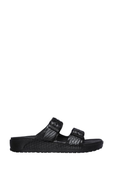 Skechers® Black Cali Breeze 2.0 Royal Texture Sandals