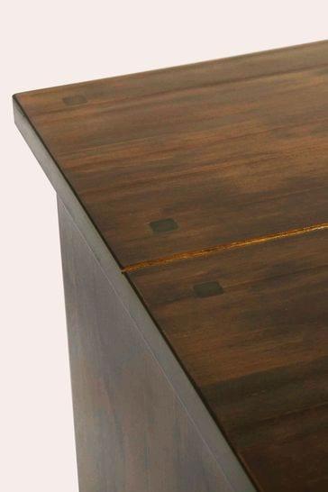 Garrat Dark Chestnut 1 Door 6 Drawer Sideboard by Laura Ashley
