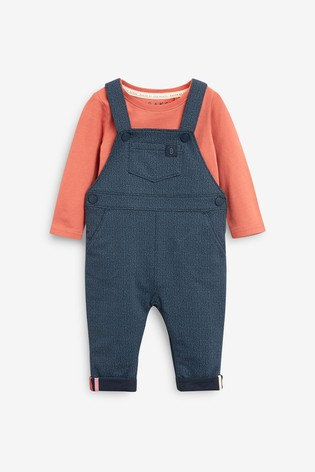 Baker by Ted Baker Navy Geo Dungarees