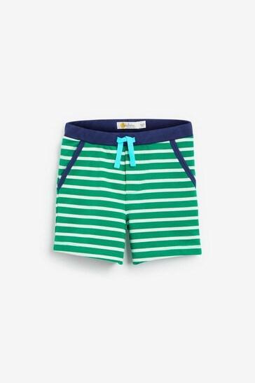 Boden Green Essential Jersey Shorts