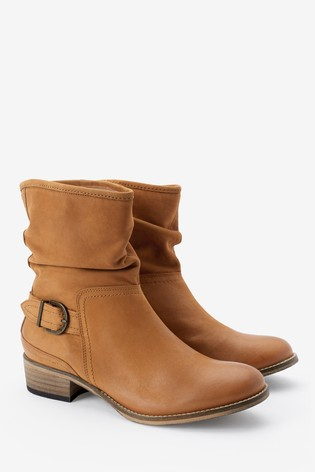 Tan Forever Comfort® Ankle Boots
