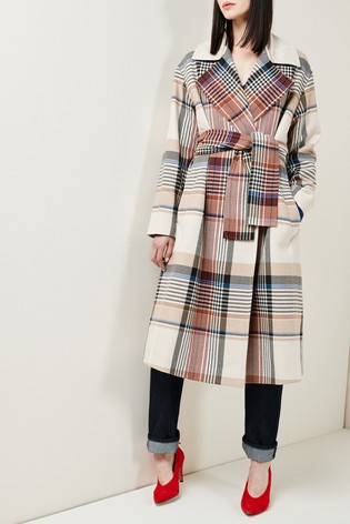 Mix/King & Tuckfield Belted Coat