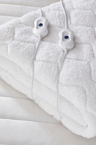Comfort Control Heated Teddy Mattress Topper by Silentnight