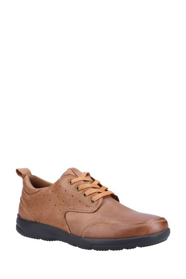 Hush Puppies Brown Apollo Lace-Up Shoes