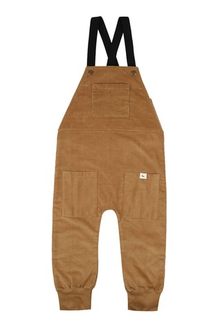 Turtledove London Elastic Strap Honey Dungarees