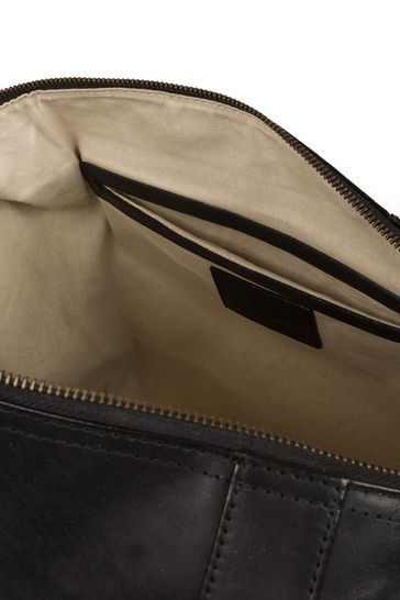 Conkca Rivellino Leather Holdall