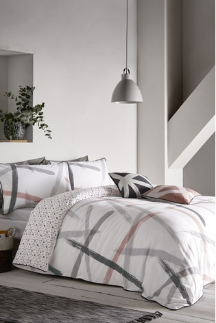 Leda Cotton Duvet Cover and Pillowcase Set by Appletree