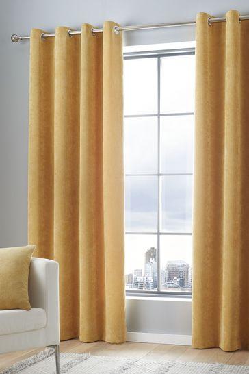 Curtina Cord Eyelet Curtains