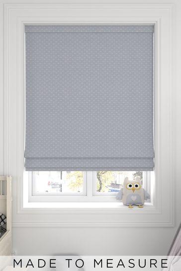 Leta Dove Grey Made To Measure Roman Blind