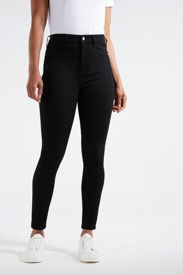 F&F Tube Black Jeans