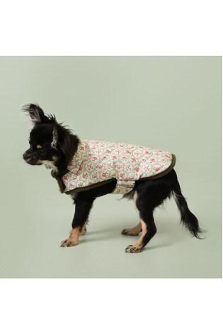 Washable Provence Rose Wax Coated Small/Medium Dog Coat by Cath Kidston®