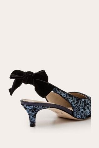 Boden Blue Antonia Slingbacks