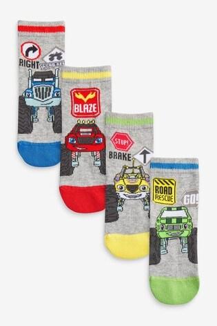 Blaze 4 Pack Socks