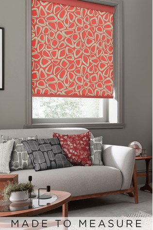 Pebbles Ladybird Red Made To Measure Roller Blind by MissPrint