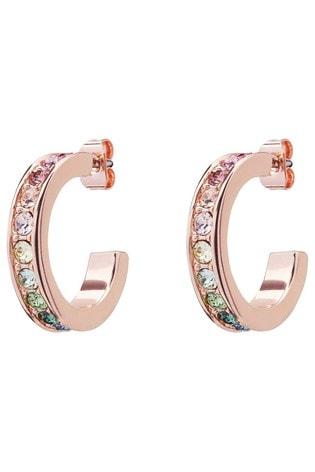 Ted Baker Reanna Small Crystal Hoop Earrings