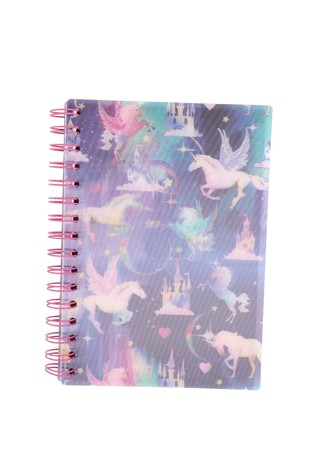2 Pack Paperchase Unicorn Lined Notebook