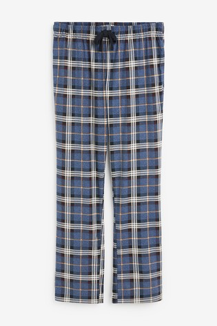 Navy/Plum Cosy Pyjama Bottoms Two Pack