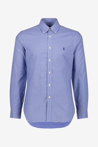 Polo Ralph Lauren Blue Slim Shirt