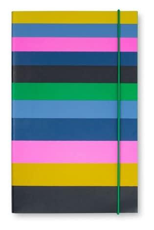 kate spade new york Enchanted Stripe Notebook
