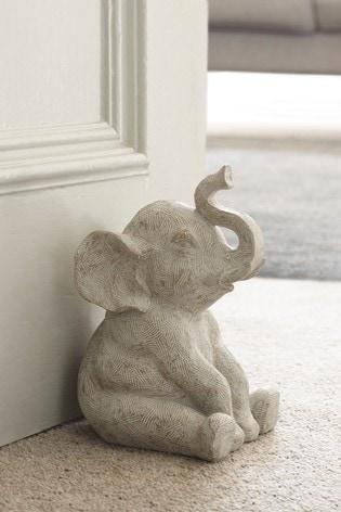 Elephant Doorstop