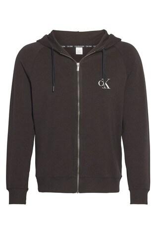 Calvin Klein Black Full Zip Hoody