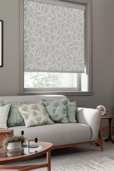 Pebbles Pumice Grey Made To Measure Roller Blind by MissPrint