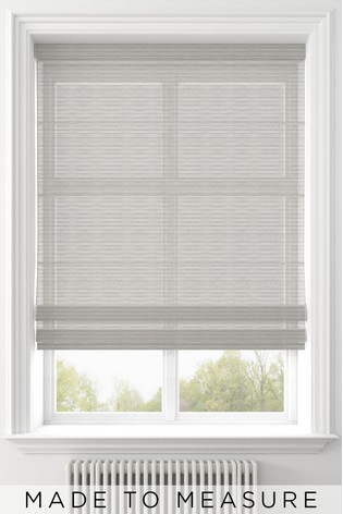 Pero Linen Natural Made To Measure Roman Blind