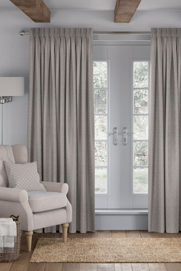 Galton Mole Grey Made To Measure Curtains