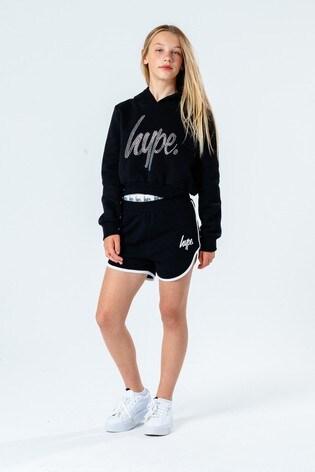 Hype. Core Black Runner Shorts