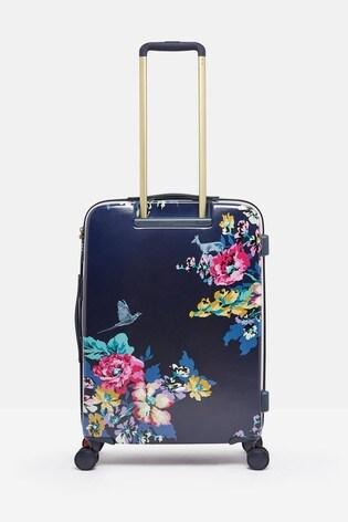 Joules Cambridge Floral Suitcase Large