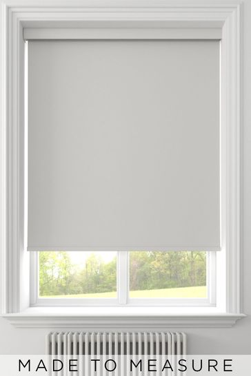Syson White Made To Measure Waterproof Roller Blind
