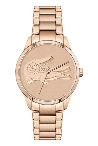 Lacoste Gold Tone Ladycroc Watch